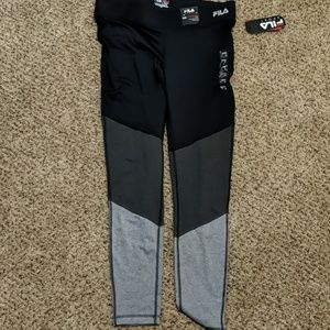 Women's fila Sport Color block workout leggings